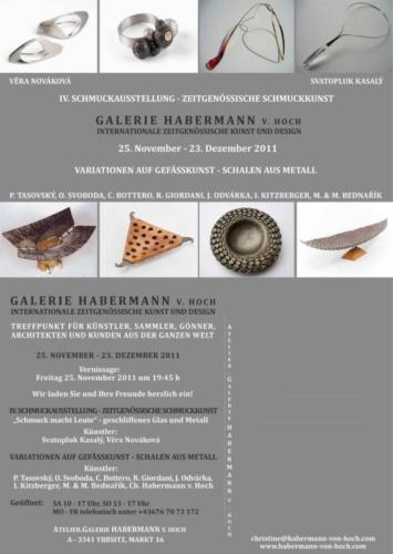 pozvanka-na vystavu-Galerie Habermann-michal-marek-bednarikove